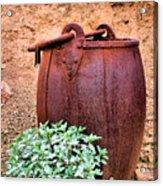 Forgotten Bucket Acrylic Print