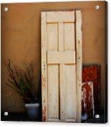 Forgotten Door Acrylic Print