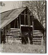Forgotten Hay Barn Acrylic Print