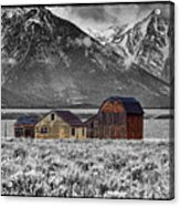 Forgotten Homestead Acrylic Print