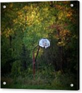 Forgotten Hoop Acrylic Print