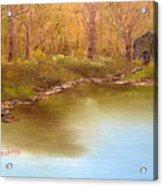 Forgotten Lake Acrylic Print