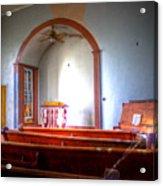 Forgotten Ministries Acrylic Print