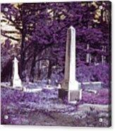 Forgotten Monuments Acrylic Print