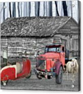 Forgotten Old Timers Acrylic Print