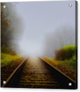 Forgotten Railway Track Acrylic Print