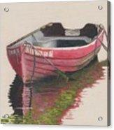 Forgotten Red Boat II Acrylic Print