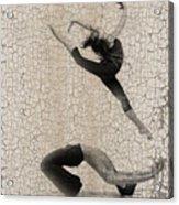 Forgotten Romance 5 Acrylic Print by Naxart Studio