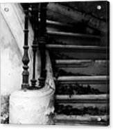 Forgotten Stairs Acrylic Print by Georgia Fowler