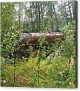 Forgotten Train Engine Acrylic Print