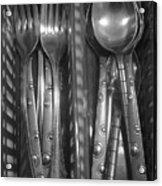 Forks...n...spoons Acrylic Print
