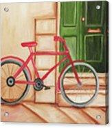 Forlorn Bike Acrylic Print