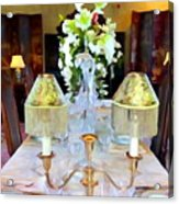 Formal Dining Acrylic Print