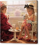 Formal Luncheon Acrylic Print by Greg Olsen