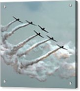 Formation Fly By Acrylic Print