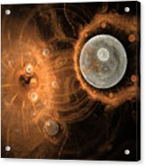 Formation Of New Planets Acrylic Print