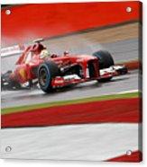 Formula 1 British Grand Prix Acrylic Print