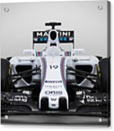 Formula 1 Williams Fw37 Acrylic Print