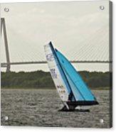 Formula 18 Sailing Cat Big Booty Charleston Sc Acrylic Print