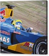 Formula One Racing Car Sauber Petronas Acrylic Print