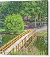 Forrest Lakes Acrylic Print