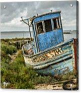 Forsaken Fishing Boat Acrylic Print