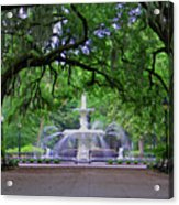 Forsyth Park Acrylic Print