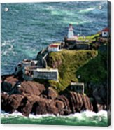 Fort Amherst At St. Johns New Foundland Acrylic Print