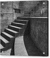Fort Casey Steps 3939 Acrylic Print
