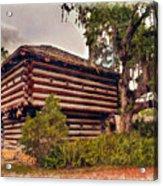 Fort Christmas Florida Acrylic Print