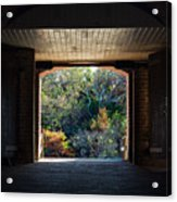 Fort Clinch Portal Acrylic Print