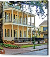 Fort Conde Inn In Mobile Alabama Acrylic Print