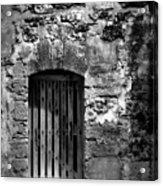 Fort Doorway Acrylic Print