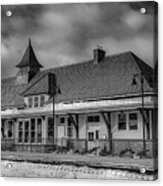 Fort Edward Train Station Acrylic Print