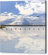 Fort Fisher Reflection Acrylic Print