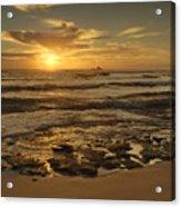 Fort Haze Beach Acrylic Print