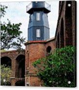 Fort Jefferson Light House Acrylic Print