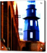 Fort Jefferson Lighthouse Acrylic Print