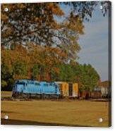Fort Lawn Train 14 Acrylic Print