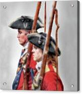 Fort Ligonier Soldiers Acrylic Print
