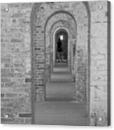 Fort Macon Going Home Acrylic Print