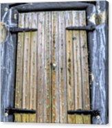 Fort Moultrie Bunker Door Acrylic Print