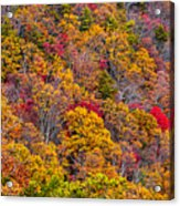 Fort Mountain State Park Cool Springs Overlook Acrylic Print