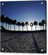 Fort Myers Beach Florida I Acrylic Print