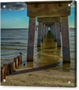 Fort Myers Beach Acrylic Print