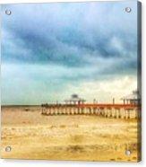 Fort Myers Pier Acrylic Print