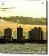 Fort Myers Skyline Acrylic Print