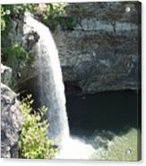 Fort Payne Waterfall Acrylic Print