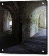 Fort Pickens Corridor 2 Acrylic Print