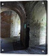 Fort Pickens Corridors Acrylic Print